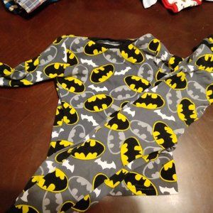 BATMAN PAJAMA SET... EUC